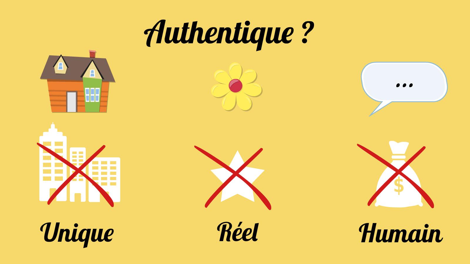 Authentique-definition