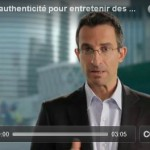 Video: Authenticity is the key to consolidate long-term relationships…