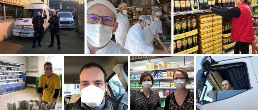 #Coronavirus #Quarantine_The Invisible ones to spotlight!
